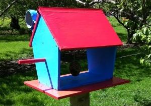 Letter Box Bird Feeder