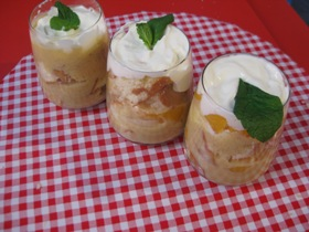 Trifle with Homemade Custard