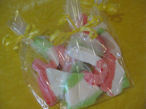 Dip Dyed Marshmallows