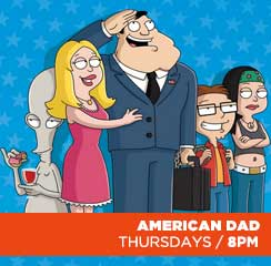 American Dad Show Banner